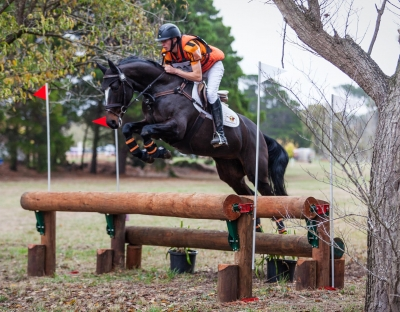 Sam Jeffree riding Woodmount Lolita at Ballarat Horse Trials 2018