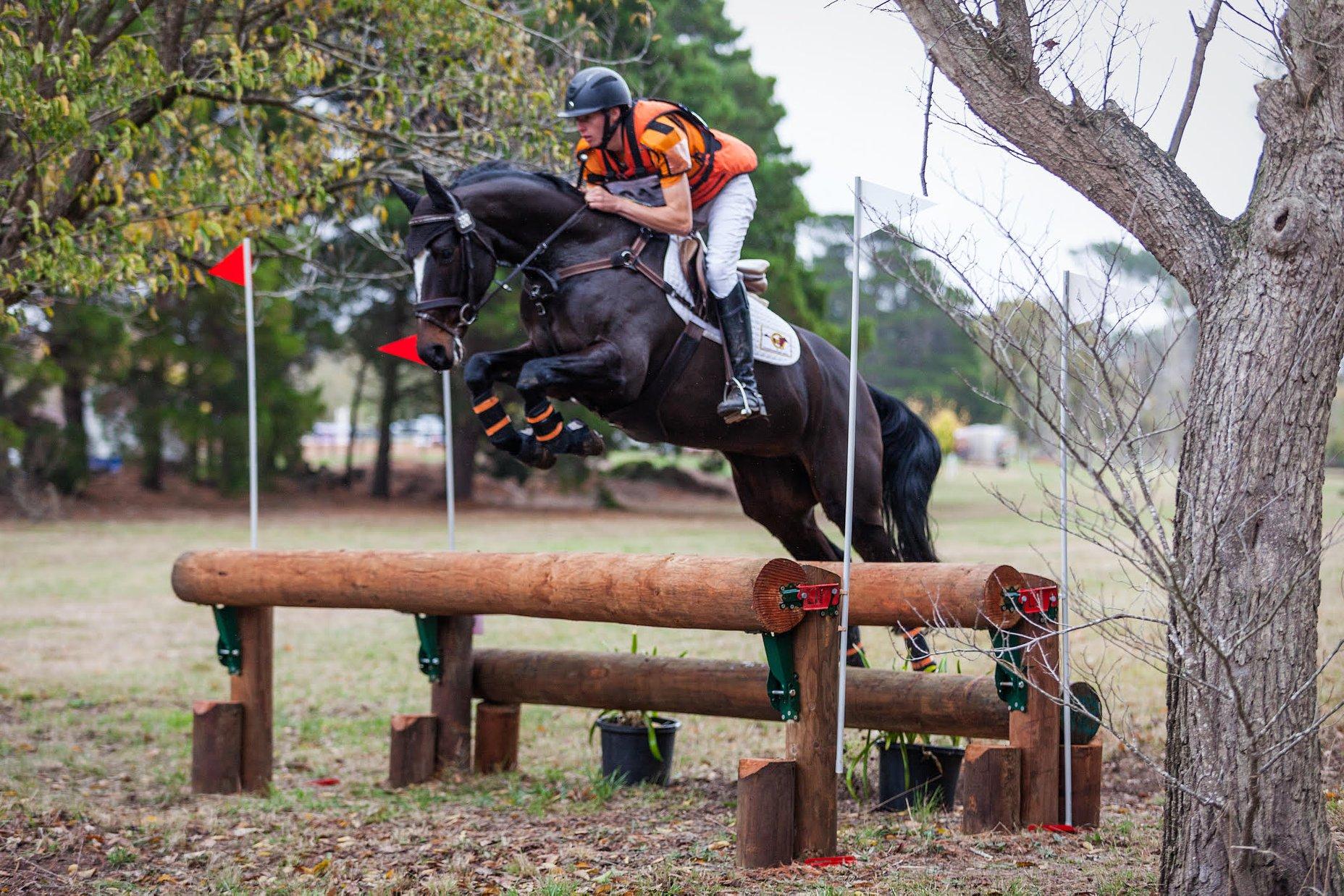 Sam Jeffree riding Woodmount Lolita at Ballarat Horse Trials 2018