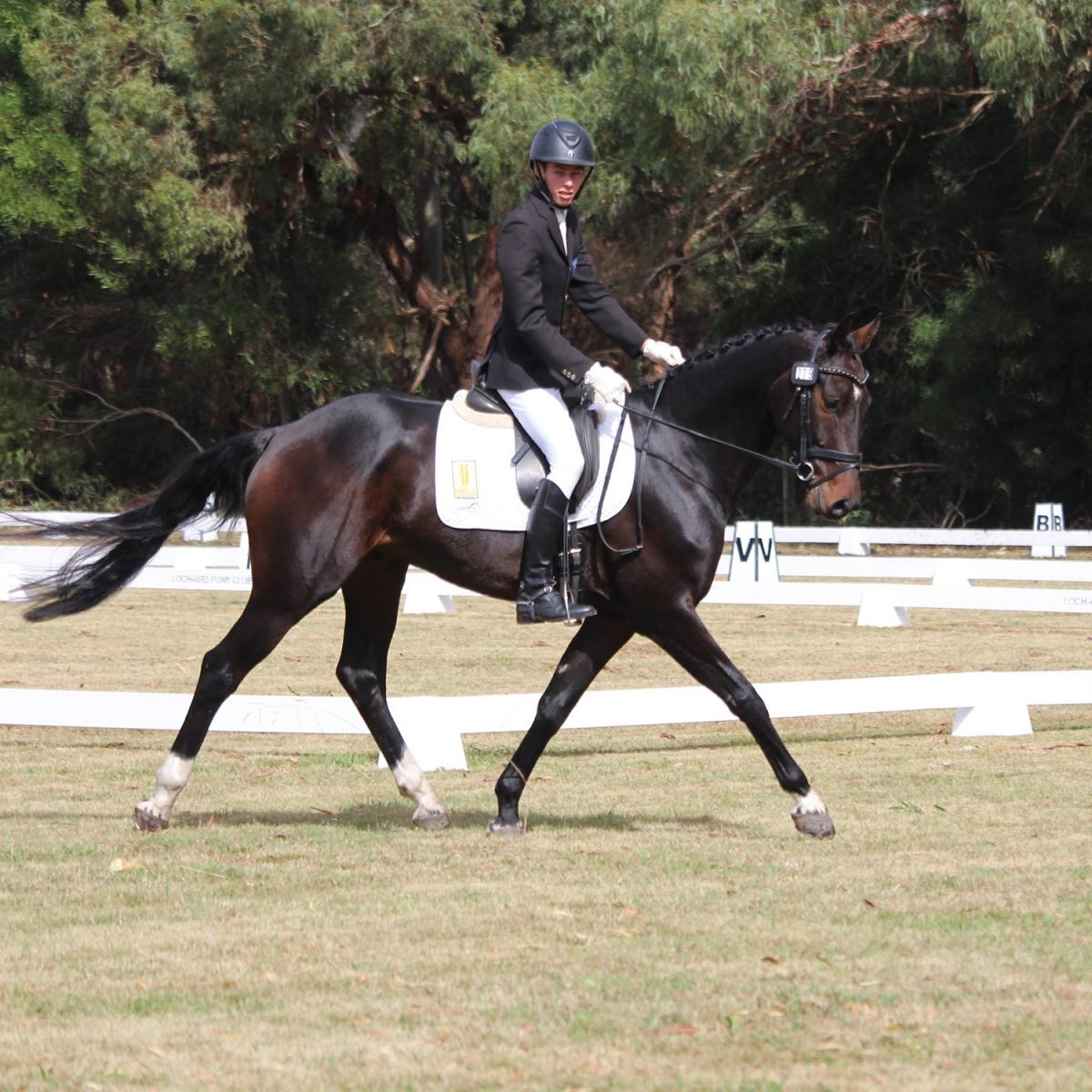Sam Jeffree and Wimborne Conjuror at Heytesbury Horse Trials 2018