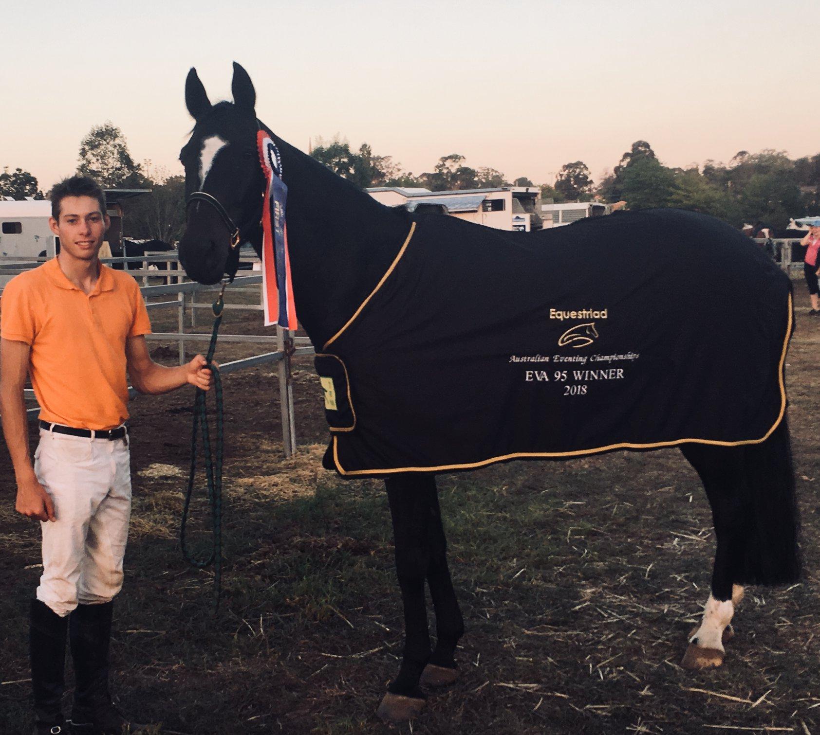 AUS Champs 2018 - Sam and Woodmount Lolita
