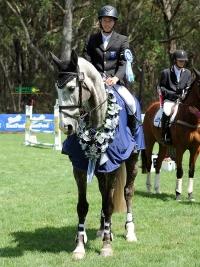 Sam Jeffree and Koyuna Tactician win at Wallaby Hill Horse Trials 2018 - photo by OzShotz