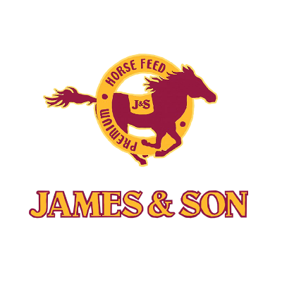 JE Sponsor - James & Son Premium Horse Feed - logo