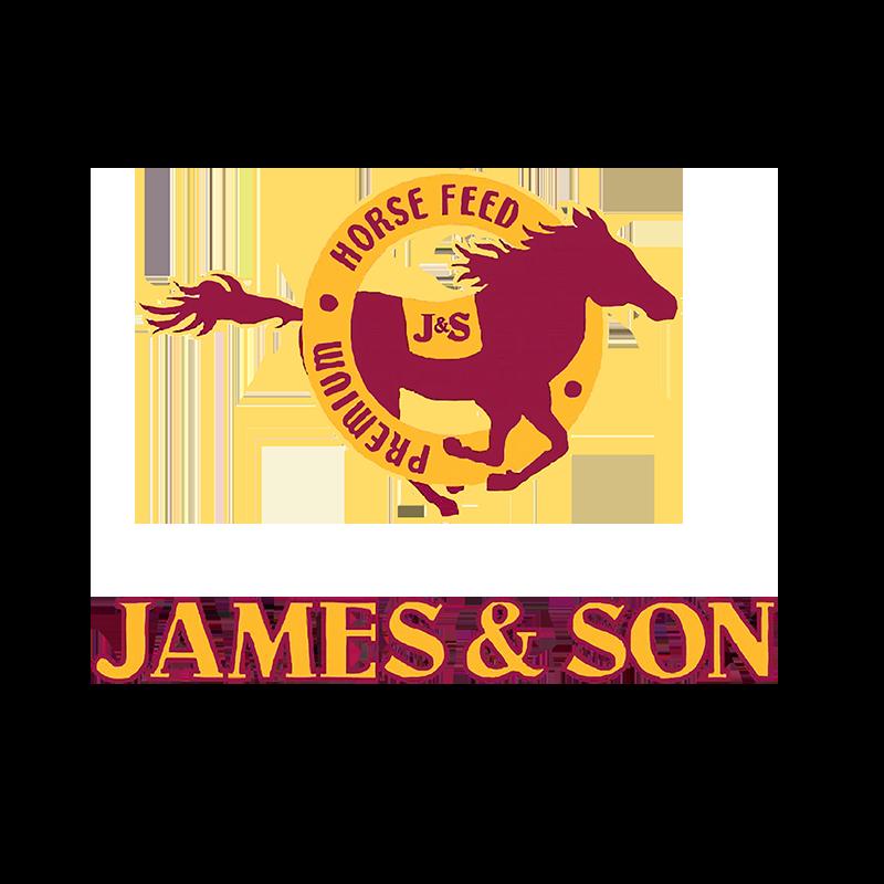 JE Sponsor - James & Son Premium Horse Feed - logo