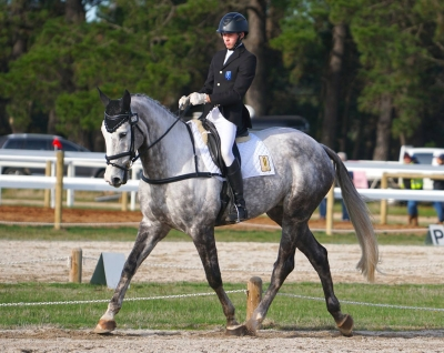 Sam Jeffree riding Koyuna Tactician at Woady HT 2018