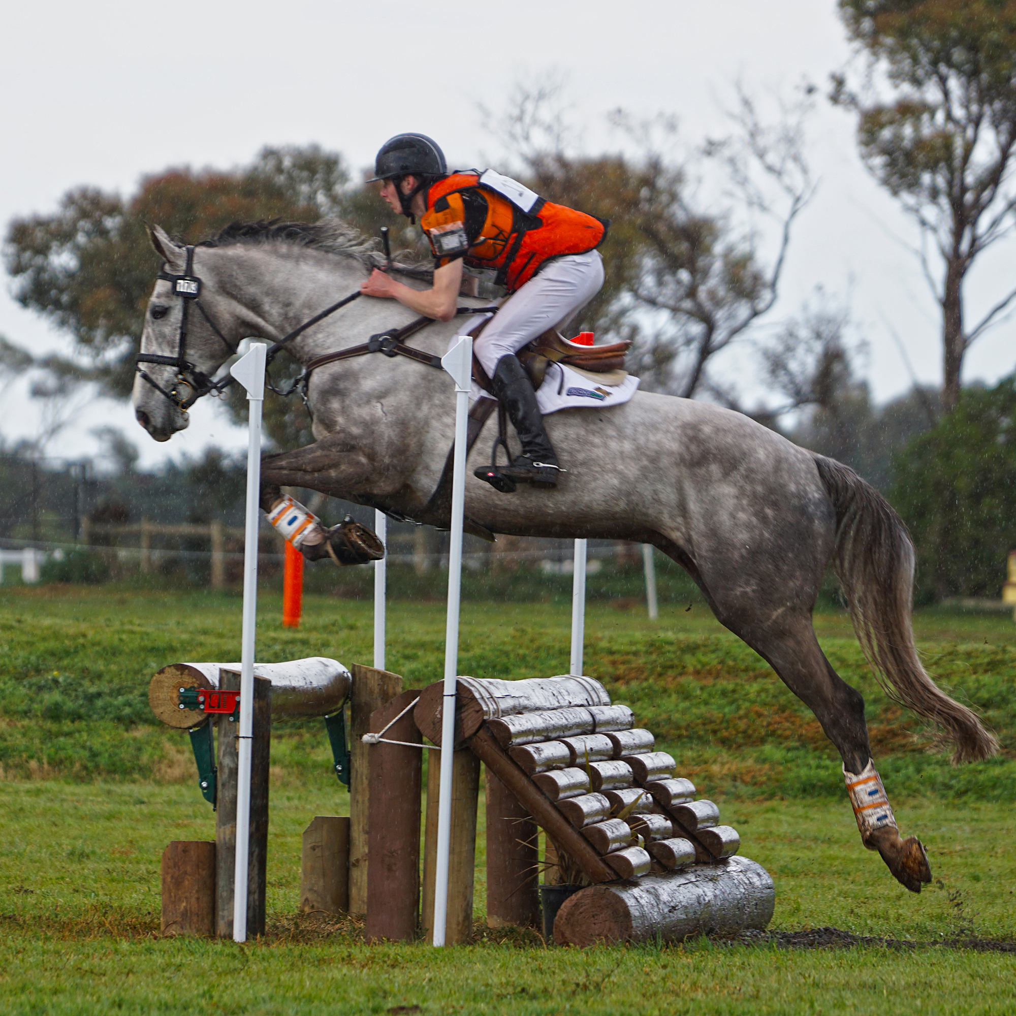 Sam Jeffree and Koyuna Tactician at Friends of Werribee Horse Trials