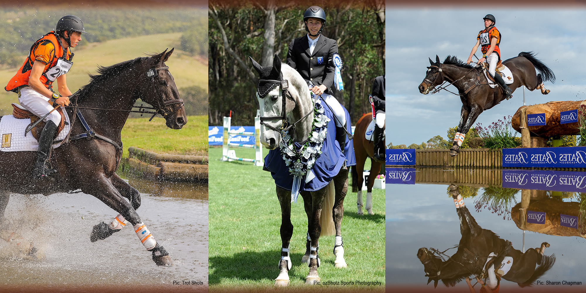 Jeffree Eventing photo collage