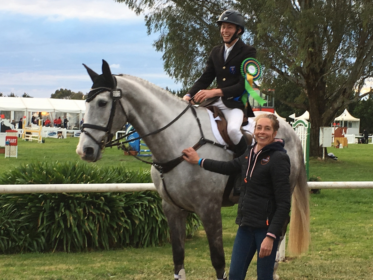 Melb3de - Sam and Wendy Jeffree with Koyuna Tactician