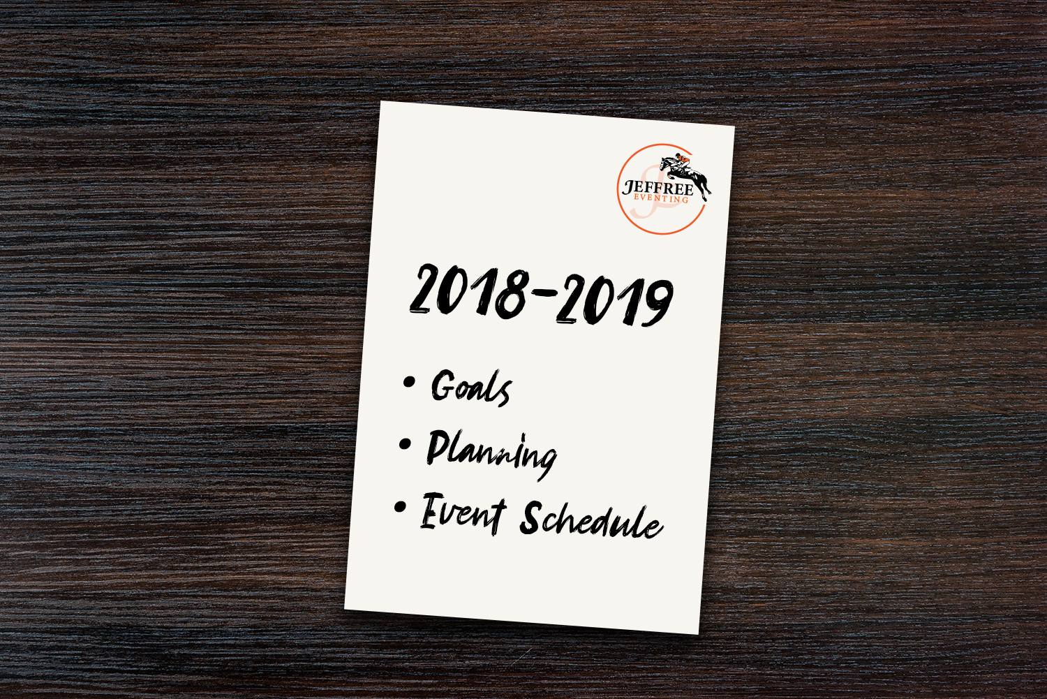 Preparing for the new season: goals, planning and event schedule