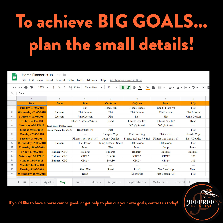 Jeffree Eventing - planner
