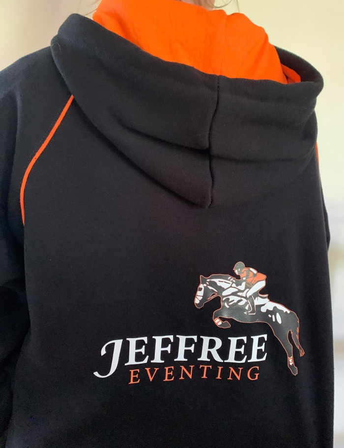 Back of JE Limited Edition Hoodie