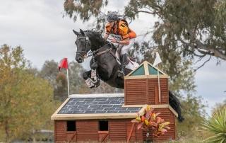 2020 AlburyHT - Sam riding Equus Helenik - photo by Grain & Mane